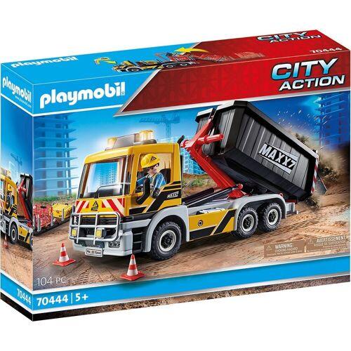 Playmobil Spielfigur »70444 LKW mit Wechselaufbau«