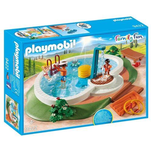 Playmobil Spielwelt »9422 - Family Fun - Swimmingpool«