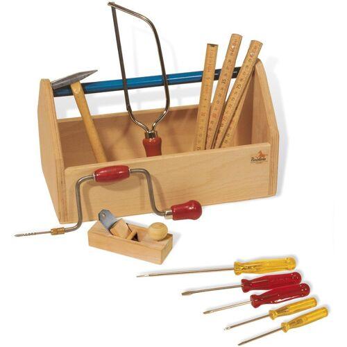 Pinolino® Kinder-Werkzeug-Set »Werkzeugkiste mit Werkzeug«, (Set, 11-tlg)