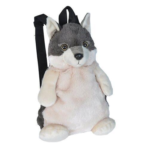 WILD REPUBLIC  WILD REPUBLIC  Kuscheltier »Rucksack Wolf 36cm«