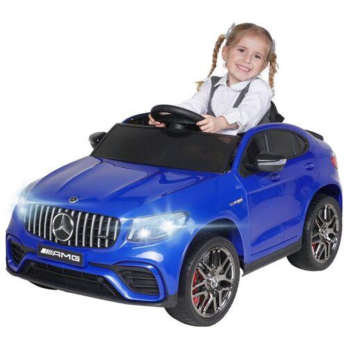 Actionbikes Motors Spielzeug-Auto »Kinder Elektroauto Mercedes Benz GLC AMG«, inkl. Fernbedienung, Blau