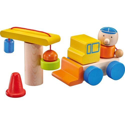 Selecta Spielbausteine »Baustelle, Klett-Stapelspielzeug, 8 Teile«