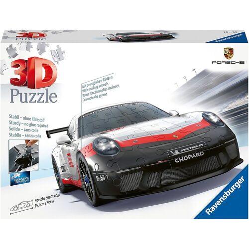 Ravensburger 3D-Puzzle »3D-Puzzle Porsche 911 R GT3 Cup, 108 Teile«, Puzzleteile