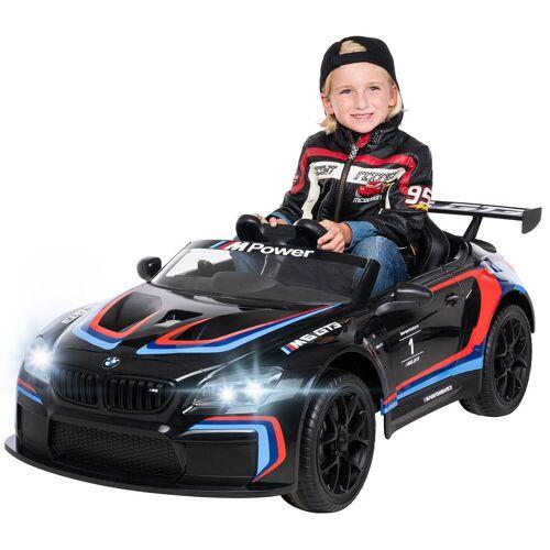 Actionbikes Motors Spielzeug-Auto »Kinder Elektroauto BMW M6 GT3«, inkl. Fernbedienung, Schwarz