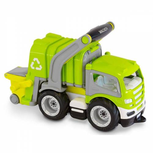 WADER QUALITY TOYS Spielzeug-Auto »WADER GripTruck Müllwagen«