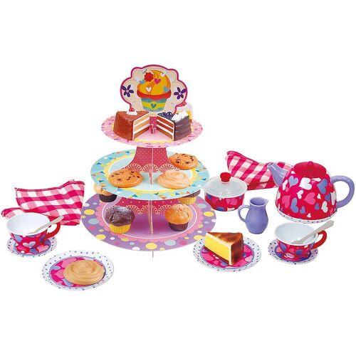 Playgo Kindergeschirr-Set »Puppengeschirr Tee-Kuchen-Set, 28-tlg.«