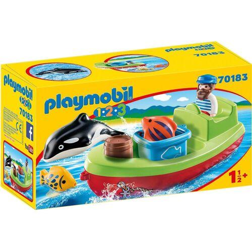 Playmobil Spielfigur »70183 Seemann mit Fischerboot«