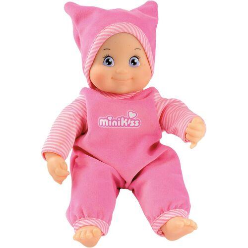 Smoby Babypuppe »MinikKiss Puppe, rosa«