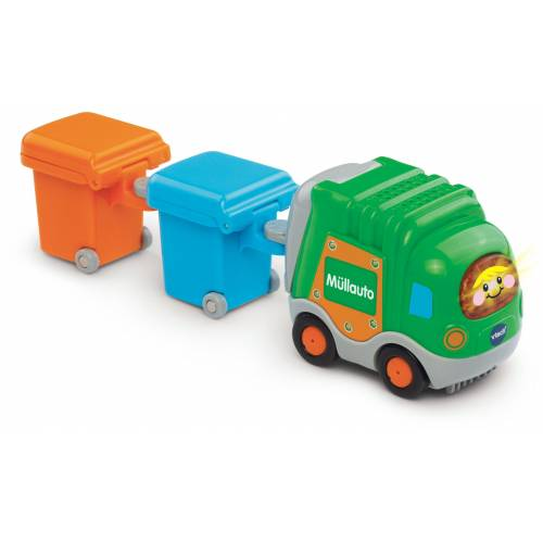 Vtech® Spielzeug-Müllwagen »Tut Tut Baby Flitzer Müllauto & 2 Mülltonnen«