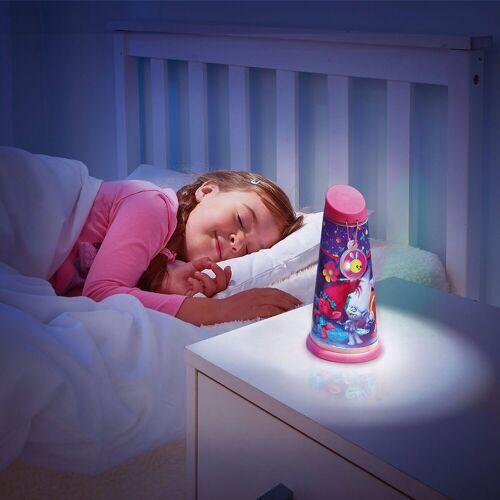 Apart WORLDS APART Nachtlicht und Taschenlampe, Trolls, pink