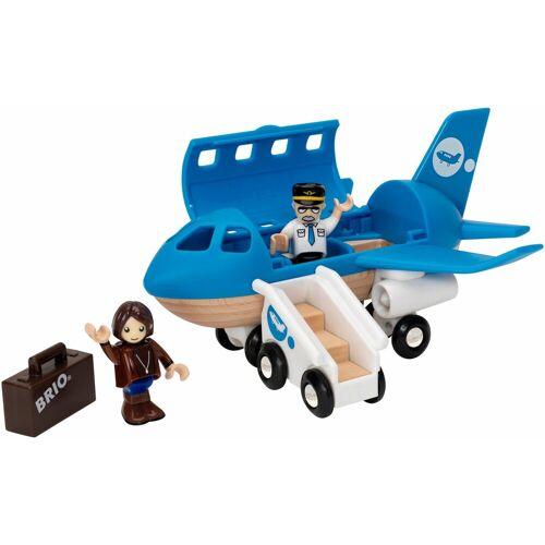 Brio Spielzeug-Flugzeug »Brio WORLD Blaues Flugzeug«, blau
