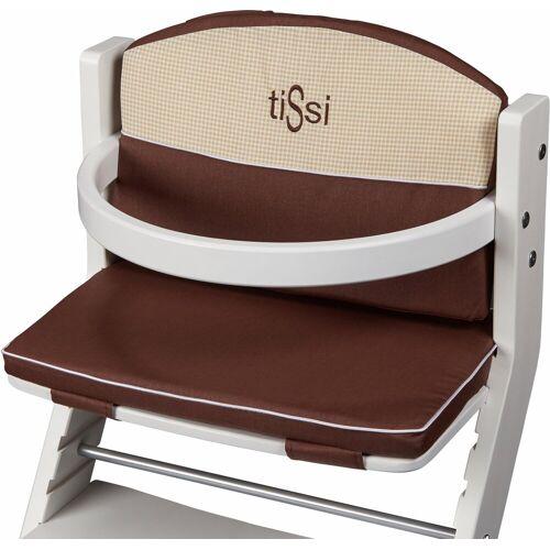 tiSsi® Kinder-Sitzauflage »Braun«, für Hochstuhl