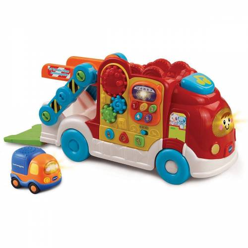 Vtech® Spiel, »Tut Tut Baby Flitzer - Spielset Autotransporter«