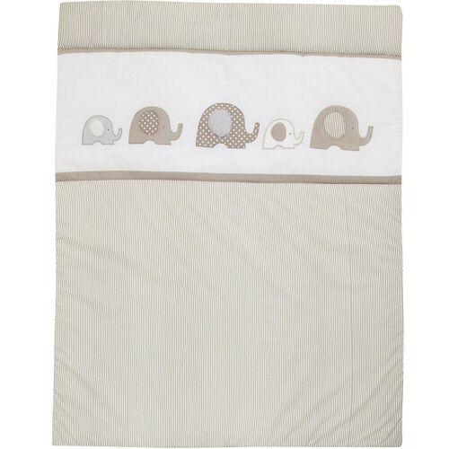 Alvi® Krabbeldecke »Krabbeldecke Elefant, 100 x 135 cm«,