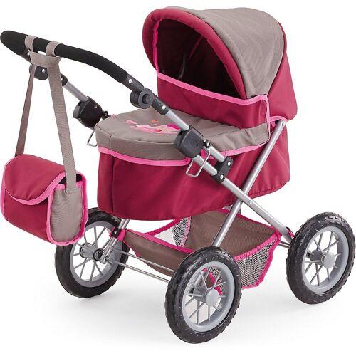 Bayer Puppenwagen »Puppenwagen Trendy grau/ pink«