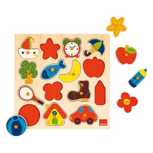 Goula Steckpuzzle »53023 Holzpuzzle«, Puzzleteile