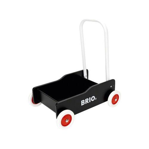 Brio Lauflernwagen »Holz Lauflernwagen«, schwarz