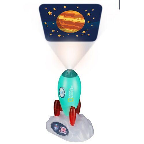 NATIONAL GEOGRAPHIC Projektor »Weltraumrakete - Projektor und Nachtlicht«