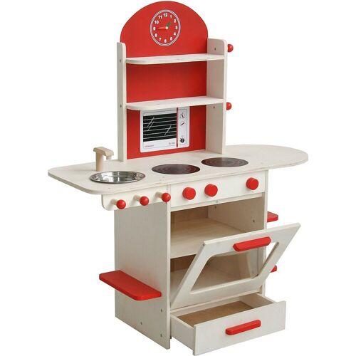 roba® Spielküche »Spielküche, natur/rot«