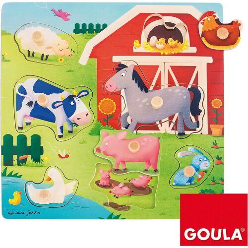 Goula Steckpuzzle, Puzzleteile