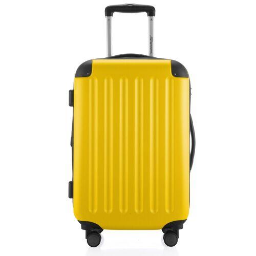 Hauptstadtkoffer Hartschalen-Trolley »Spree«, 4 Rollen, gelb