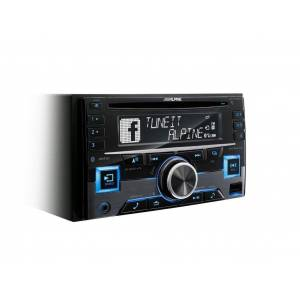 Alpine Audio-System (CDE-W296BT - 2 Din AutoRadio inkl. Bluetooth)