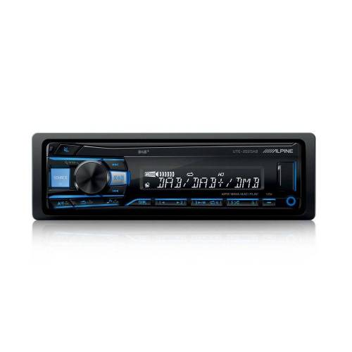 Alpine Audio-System (UTE-202DAB, DAB USB MP3, 1-DIN Autoradio)