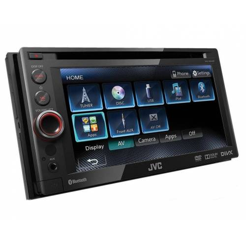 JVC Audio-System (KW-AV61BTE - 2-DIN, DVD, Bluetooth, MP3, USB Autoradio)