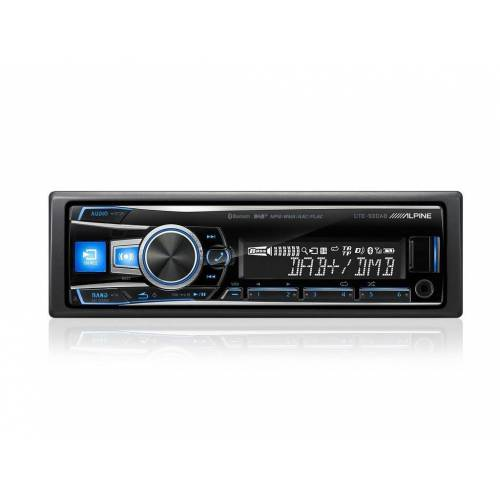Alpine Audio-System (UTE-93DAB, DAB Bluetooth USB MP3, 1-DIN Autoradio)