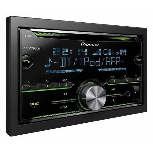Pioneer Audio-System (FH-X730BT - 2-DIN Bluetooth, CD, MP3, USB, Spotify Autoradio)