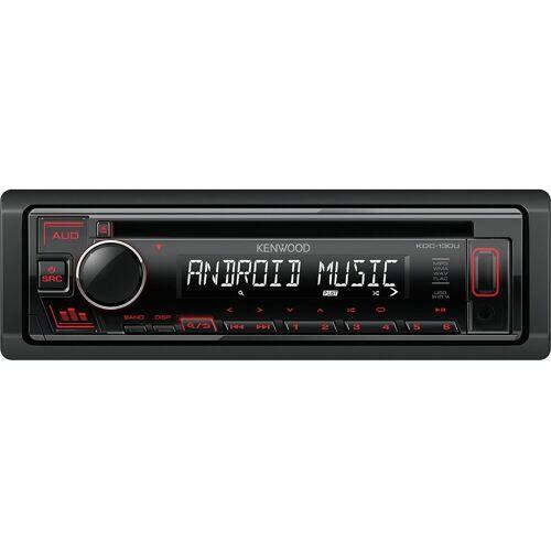 Kenwood Audio-System (KDC-130UR - CD, MP3, USB, Aux-In Autoradio)