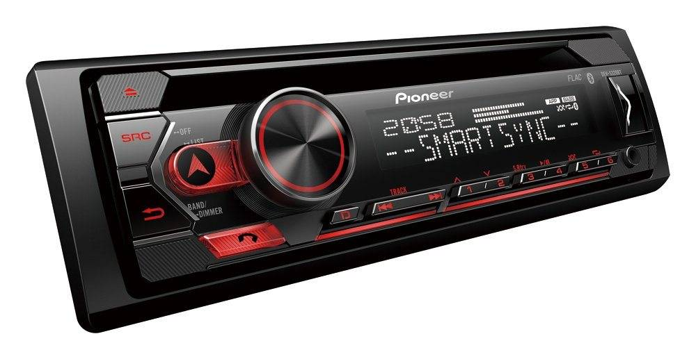 Pioneer Audio-System (DEH-S320BT - Bluetooth, Spotify, CD, USB, Android, Autoradio)