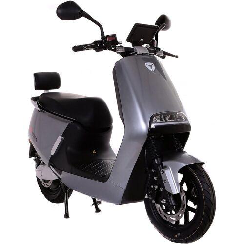 SXT Scooters E-Motorroller »yadea G5«, 2300 W, 45 km/h, anthrazit