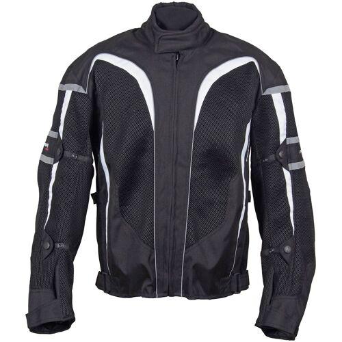 roleff Motorradjacke »RO 607«, weiß/grau