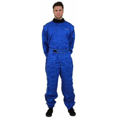 NERVE Jeans-Overall »Race Kartoverall 450D«, blau