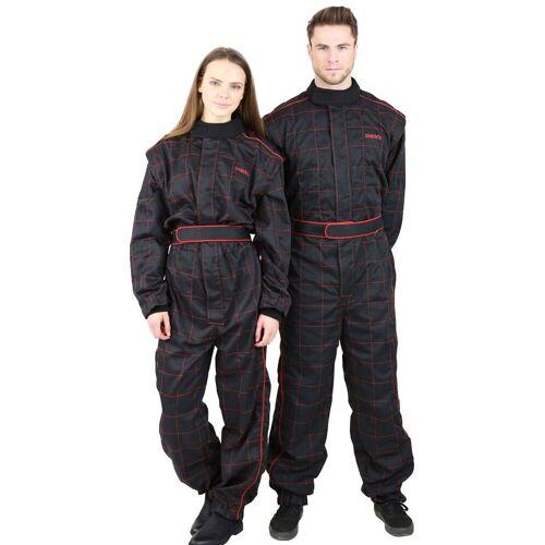 NERVE Jeans-Overall »Race Kartoverall 450D«, schwarz