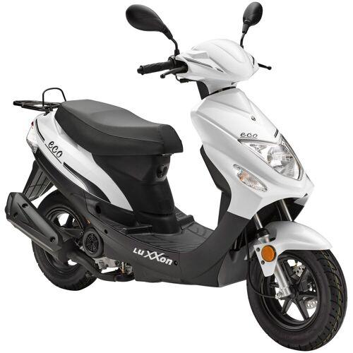 Luxxon Motorroller »Eco«, 49 ccm, 45 km/h, Euro 4, weiß