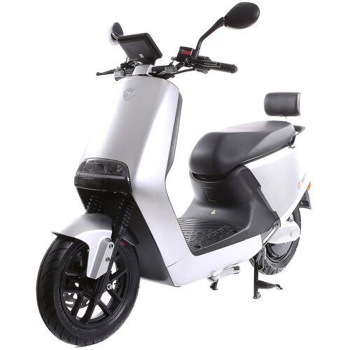 SXT Scooters E-Motorroller »yadea G5«, 2300 W, 45 km/h, silber