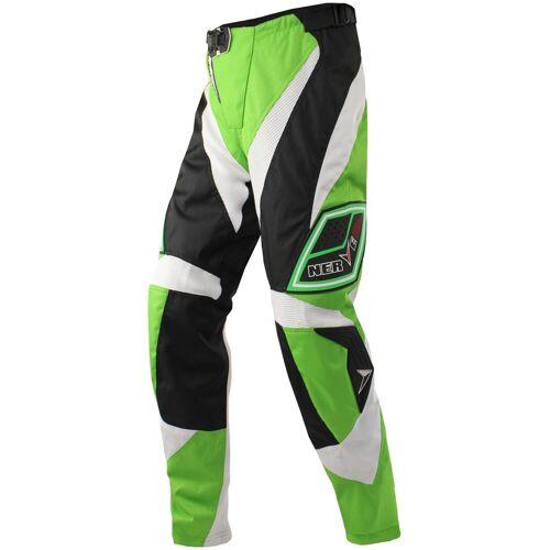 NERVE Motorradhose »Motocross«, grün