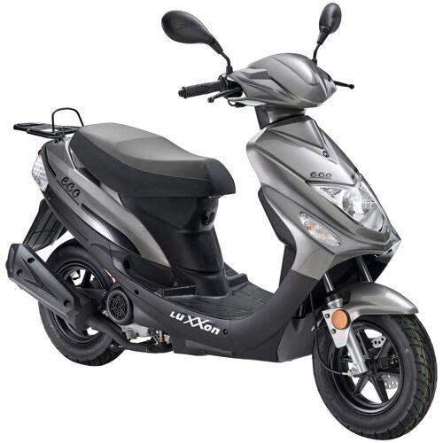 Luxxon Motorroller »Eco«, 49 ccm, 45 km/h, Euro 4, grau