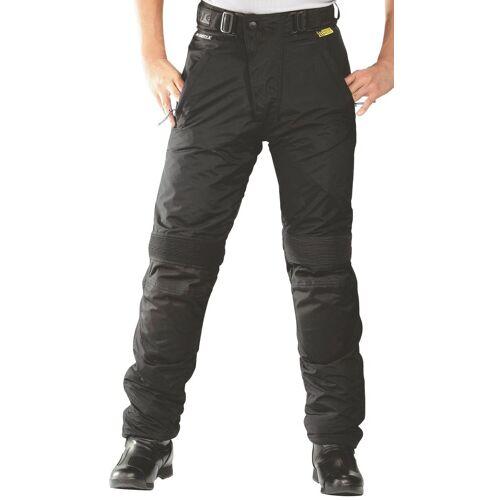 roleff Motorradhose »RO 455«, mit Knieprotektoren, schwarz