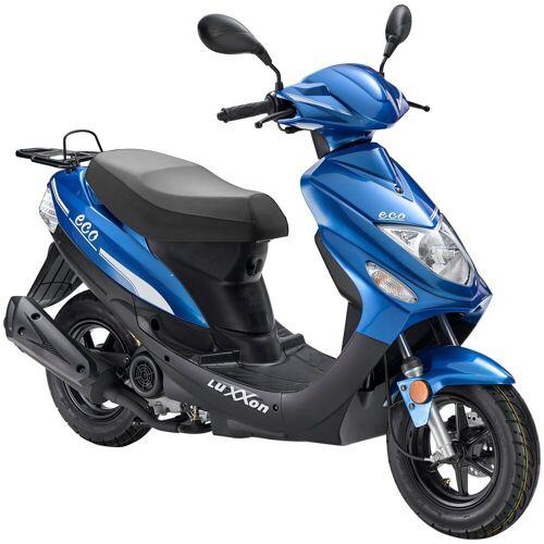 Luxxon Motorroller »Eco«, 49 ccm, 45 km/h, Euro 4, blau