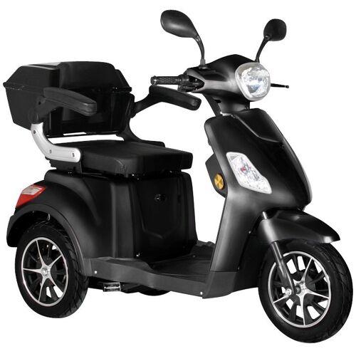 """Didi THURAU Edition Elektromobil »Dreirad-E-Mobil """"Bologna"""" - 25 km/h«, 1000 W, 25 km/h, (mit Topcase), schwarz   schwarz"""