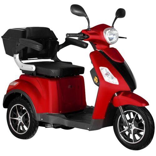 "Didi THURAU Edition Elektromobil »Dreirad-E-Mobil ""Bologna"" - 25 km/h«, 1000 W, 25 km/h, (mit Topcase), rot   rot"