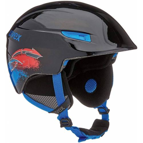 Uvex Skihelm »Skihelm u-kid black-blue«