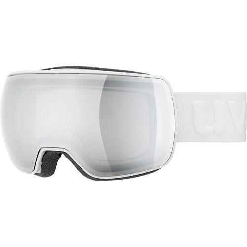 Uvex Skibrille »Skibrille compact LM white dl/mirror silver«