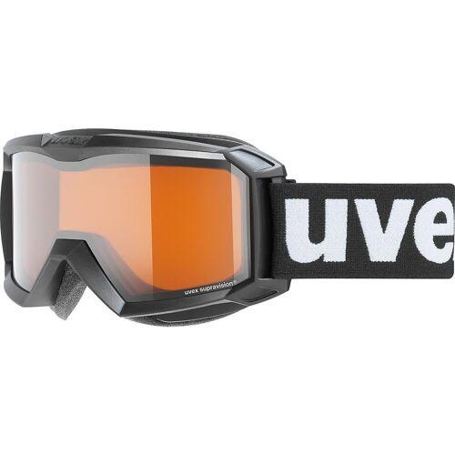 Uvex Skibrille »Skibrille Flizz LG Black Mat«