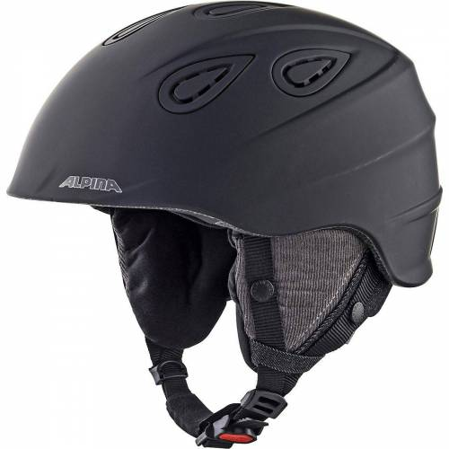 Alpina Sports Skihelm »Skihelm Grap 2.0 LE black matt«