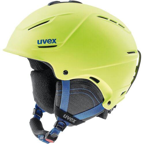 Uvex Skihelm »Skihelm p1us 2.0 lime mat«