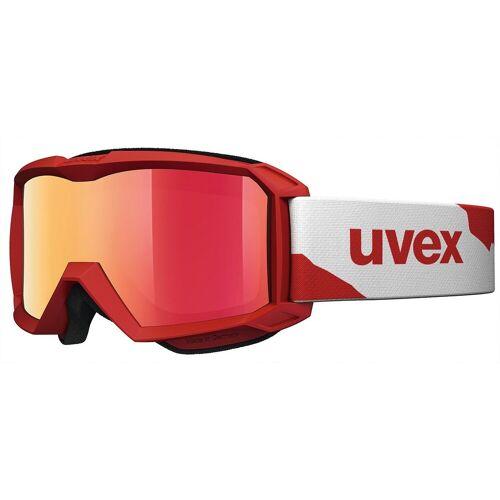 Uvex Skibrille »Skibrille flizz LM red mat dl/mir red«